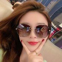 Langsha 浪莎 墨镜女太阳镜女防紫外线偏光驾驶眼镜