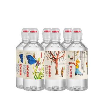 88VIP : NONGFU SPRING 农夫山泉 天然矿泉水 400ml*6瓶/包 (运动盖设计)