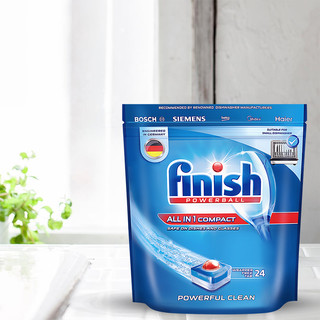 finish 亮碟 洗碗机专用多效合一洗涤块 264g