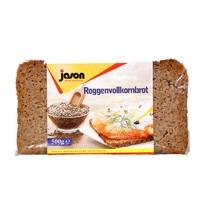 jason 捷森 高纤 黑麦面包 500g