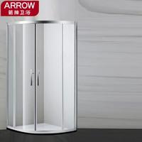 ARROW 箭牌卫浴 AEXYFL101000 弧扇形淋浴房