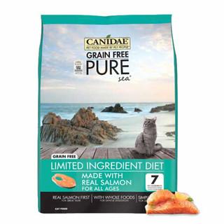 CANIDAE 卡比 CANIDAE/卡比 三文鱼鸡肉猫粮 10磅4.5kg