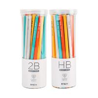 M&G 晨光  AWPQ2326 彩色木杆铅笔 50支筒装 三角/六角杆可选