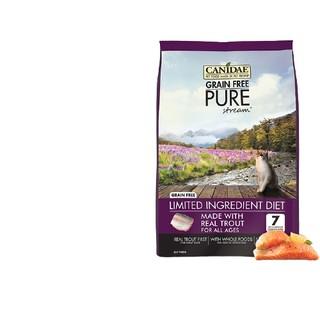 CANIDAE 卡比 猫粮 鳟鱼配方全猫粮 鱼肉味 10磅