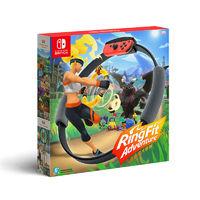 百亿补贴:Nintendo 任天堂 海外版 Switch体感游戏套装《健身环大冒险》中文