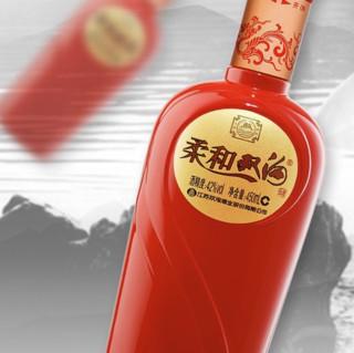 双沟 柔和 红精品 42%vol 浓香型白酒