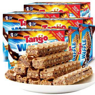 TANGO 天章 Tango咔咔脆威化饼干 巧克力味
