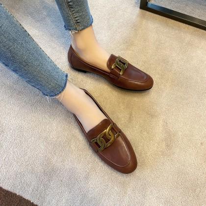 8115400880 女士复古小皮鞋