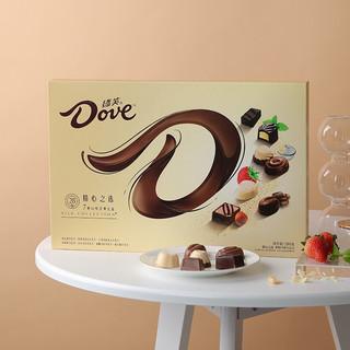Dove 德芙 精心之选 巧克力礼盒装 混合口味