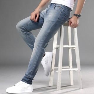 U.S. POLO ASSN. 美国马球协会 D11212013083A 男士薄款时尚修身小脚牛仔裤