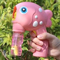 贝利雅 儿童手动泡泡机 新品 粉
