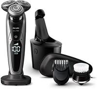 PHILIPS 飞利浦 Philips 飞利浦 9000系列 男士 电动剃须刀 72枚刀片附带修剪器、洁面刷、清洗充电器 S9732A/33 带清洁器