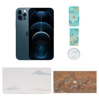 Apple 苹果  iPhone 12 Pro 256G 海蓝色 5G全网通手机 国家宝藏定制礼盒套装
