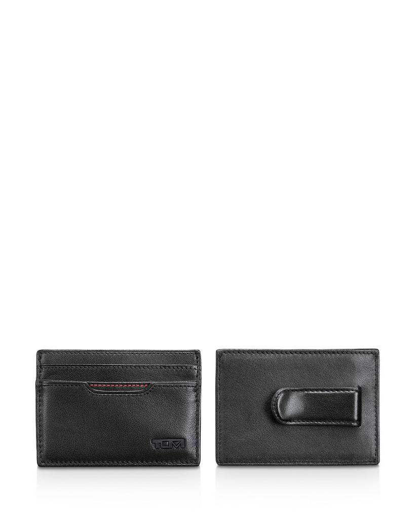 TUMI 途明 RFID Delta Money Clip Card Case