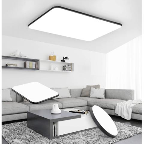NVC Lighting 雷士照明 语音智控黑苹果系列 吸顶灯 遥控款三室一厅 112W+36W+24W