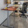Loctek 乐歌 E2S 升降电脑桌 胡桃木色桌板+银灰桌腿 120cm*60cm