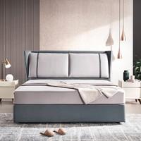 15日0点:CHEERS 芝华仕 C055 云皮卧室软床 床头深色 1.8m