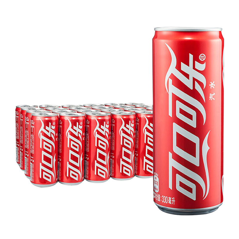 Coca-Cola 可口可乐 汽水 330ml*24瓶