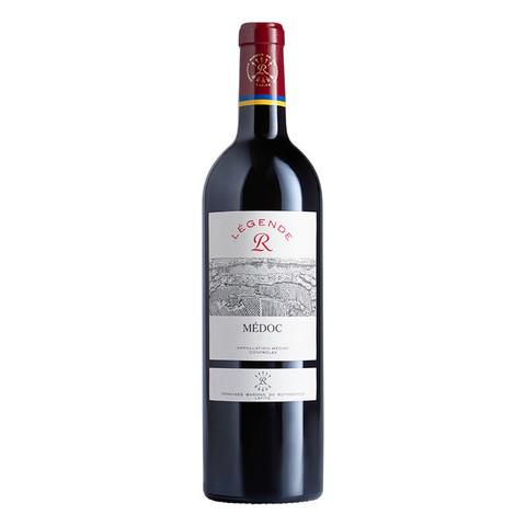 CHATEAU LAFITE ROTHSCHILD 拉菲古堡 拉菲(LAFITE)传奇梅多克 赤霞珠干红葡萄酒 750ml单瓶装 法国波尔多进口红酒