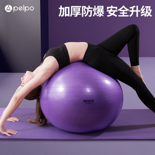 派普瑜伽球健身球减肥孕妇专用助产儿童感统训练瑜珈球大龙球加厚