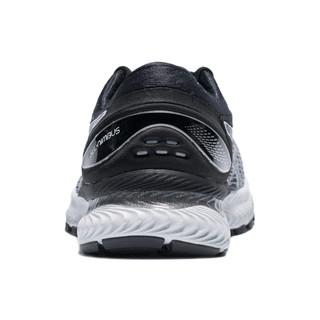 ASICS 亚瑟士 GEL-NIMBUS 22 (4E)男子跑鞋 1011A682-100 白色/黑色 43.5