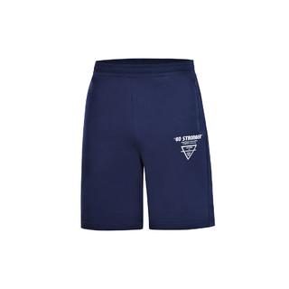 LI-NING 李宁 李宁夏季新款训练系列男子纯棉短卫裤运动裤