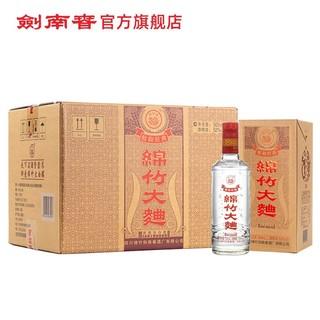剑南春 52度 醇和经典绵竹大曲 500ml*6 整箱白酒