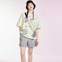 PEACEBIRD 太平鸟 AWGCB145385 高腰休闲短裤