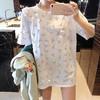 Lee Cooper LCLZ2047-L 女士舒适透气纯棉短袖t恤