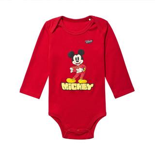 LI-NING 李宁 迪士尼联名款  米奇婴儿连体衣