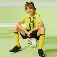 LI-NING 李宁 男童足球运动速干套装
