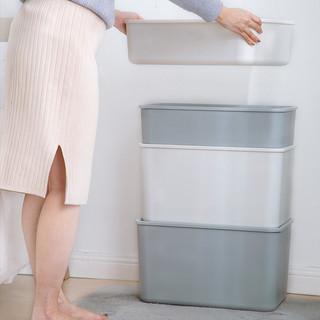 爱丽思收纳箱小号收纳盒衣服储物带盖学生宿舍杂物整理箱塑料大号