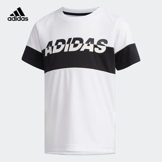 adidas 阿迪达斯 EH4044 小童运动短袖T恤
