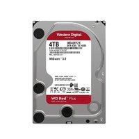 Western Digital 西部数据 红盘Plus系列 4TB 3.5英寸 NAS硬盘 (CMR、5400rpm)WD40EFZX