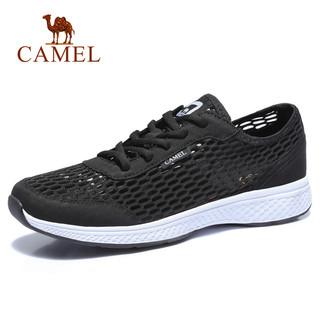 CAMEL 骆驼 Camel骆驼男鞋春夏户外运动舒适休闲网面运动鞋情侣跑步鞋子透气网鞋男
