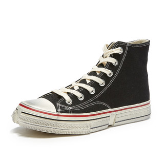 H014M9330701 男士高帮帆布鞋