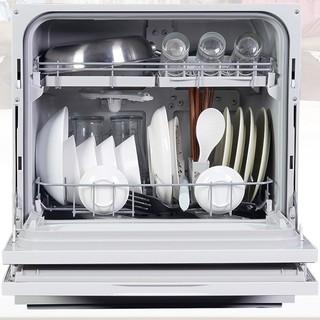 Panasonic 松下 强烘干系列 NP-TH1PECN 台式洗碗机 6套 玫瑰金