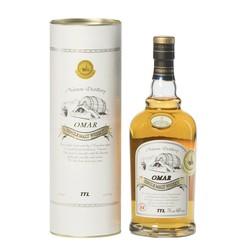 OMAR 傲玛 波本花香 单一麦芽威士忌酒 700ml