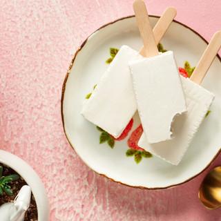 田牧 儿童冰淇淋纯牛奶味网红冰激凌雪糕迷你小支冷饮 儿童迷你装牛奶18支