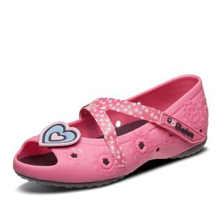 SKECHERS 斯凯奇 斯凯奇新款童鞋 公主糖果色鱼嘴凉鞋可爱女大童凉鞋