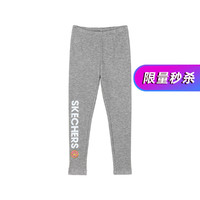 SKECHERS 斯凯奇 中大童针织紧身训练裤