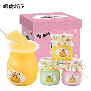 樱桃小丸子 果冻布丁甜品儿童零食品大礼包送人节日礼物 120g*18瓶