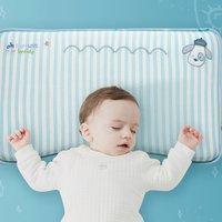 kub 可優比 嬰兒枕頭 綠色四季枕