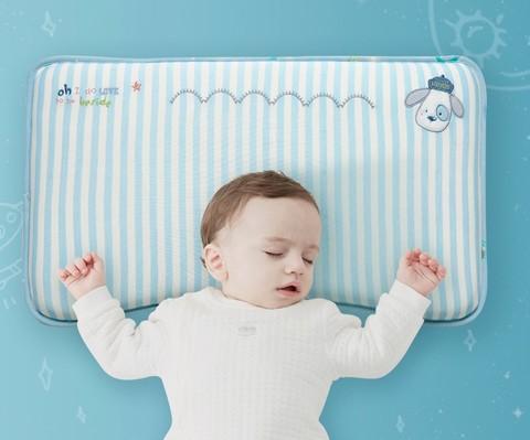kub 可优比 婴儿枕头 绿色四季枕