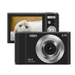 SONGDIAN 松典 DC302L 数码卡片照相机 学生入门级便携高清 星际黑 32G 内存卡