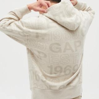 Gap 盖璞 男女款连帽卫衣 656250 燕麦色 XL