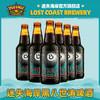 LOST COAST 迷失海岸 黑八精酿啤酒黑8世涛黑啤精酿啤酒 6瓶迷失黑8世涛