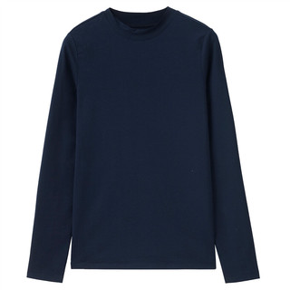 GIORDANO 佐丹奴 05320880 女士T恤 蓝色 M码