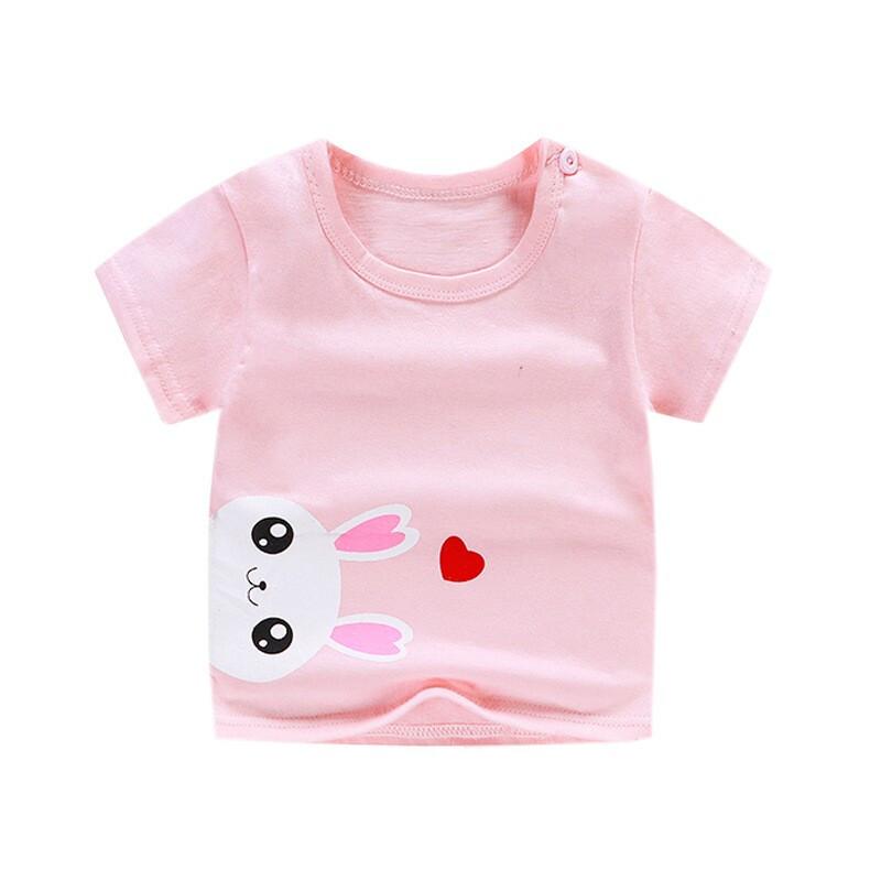专一 夏季儿童纯棉短袖印花T恤