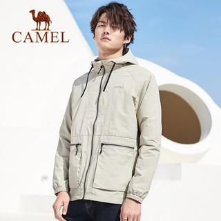 CAMEL 骆驼 T0S218115 男士风衣外套